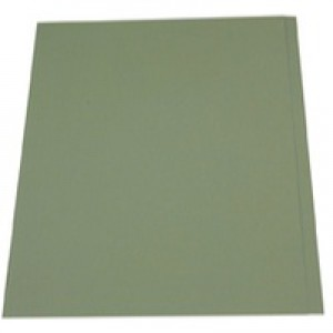 Guildhall Square Cut Folders Manilla 315gsm Foolscap Green Ref FS315-GRNZ [Pack 100]