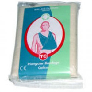 Wallace Cameron Triangular Bandages Hard-wearing Compliance Reusable Ref 1805017 [Pack 6]