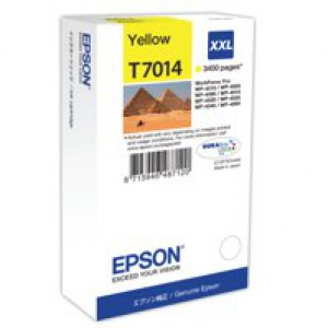Epson Pyramids Ink Cartridge XXL Yellow C13T70144010