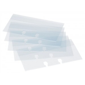 Rolodex Refill Card Protectors 57x102mm Clear Ref S0793550 [Pack 50]