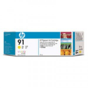 Hewlett Packard No91 Inkjet Cartridge Yellow C9469A