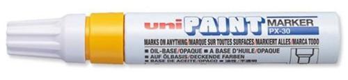 Uni Paint Marker PX30 Broad Yellow Code 9001986