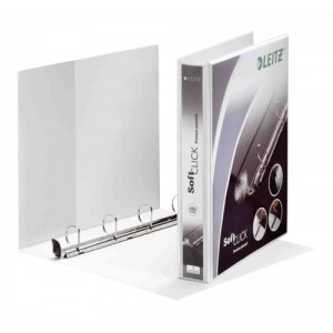 Leitz 50mm Pres Binder Wht 42040001