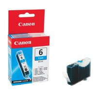 Image for Canon BCI-6C Inkjet Cartridge Page Life 280pp Cyan Ref 4706A002