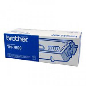 Brother Laser Toner Cartridge Page Life 6500pp Black Ref TN7600