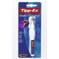Tipp-Ex Shake n Squeeze Correction Pen Retail Blister Packed Single 802298