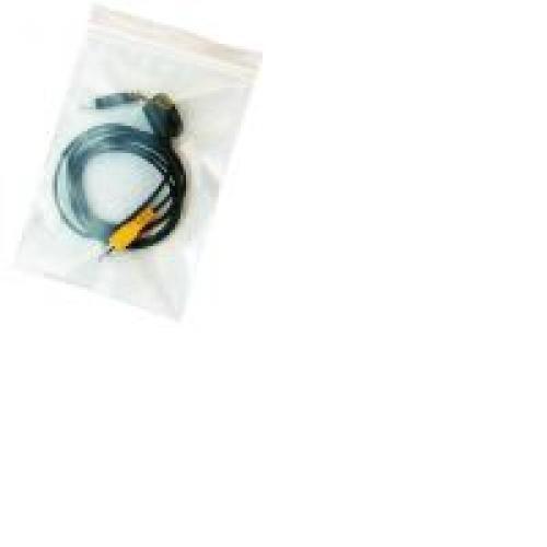 Grip Seal Bag Plain GL06 100 x 140mm (4 x 5.5in) 160g 1000/Box