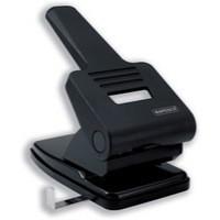 Rapesco 865P Punch Extra Heavy-duty 2-Hole Capacity 63x 80gsm Black Ref PF865PB2