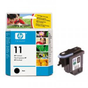 Hewlett Packard [HP] No. 11 Inkjet Printhead Page Life 24000pp Black Ref C4810A