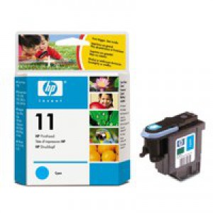 HP No.11 Printhead Long-Life Cyan Code C4811AE