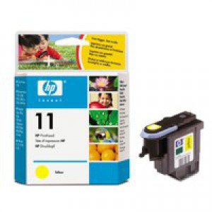 Hewlett Packard [HP] No. 11 Inkjet Printhead Page Life 24000pp Yellow Ref C4813AE