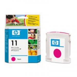 HP No.11 Inkjet Cartridge 28ml Magenta Code C4837AE