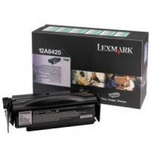 Lexmark Black H/Y 12A8425 Rtn Toner