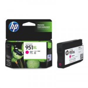 HP No.951XL Officejet Ink Cartridge Magenta Code CN047AE