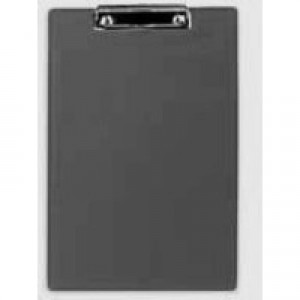 Clipboard Standard with Pen Holder Foolscap Black