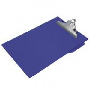 Clipboard PVC Finish Heavy Duty Foolscap Blue