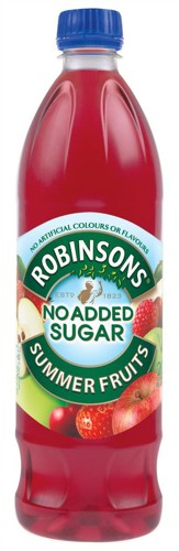 Robinsons Special R Squash No Added Sugar 1 Litre Summer Fruits Code A02105