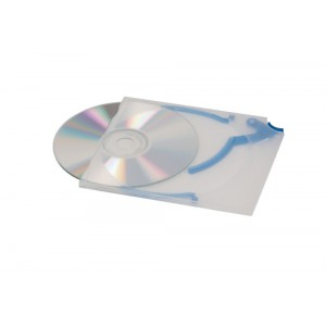 Durable CD Case Quickflip Standard Slimline for 1 Disk Translucent Ref 5267/06 [Pack 5]