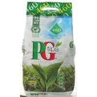 PG Tips Tea Bags Pyramid Pack 460 Code A00788