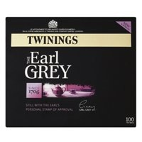 Twinings Tea Bags Earl Grey Fine High Quality Aromatic Ref A00801 [Pack 100]