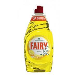 Fairy Liquid for Washing-up Lemon 433ml Pack 2 Code 96775