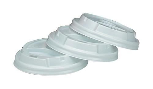 Benders Vented Lids for 8oz 230ml Vending Cups Ref B01306 [Pack 100]