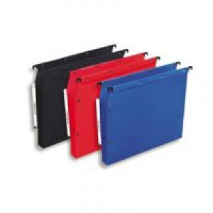 Elba Ultimate Polypro Lateral File Polypropylene 330mm 30mm Base A4 Blue Ref 100330584 [Pack 25]