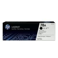 HP 78A Toner Cartridge Black Pk2 CE278AD