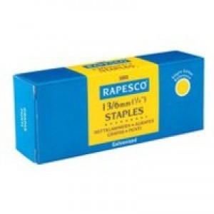Rapesco Staples 8mm 13/8 Pack of 5000