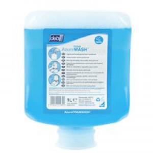 DEB Azure Foam Wash 1 Litre Refill Cartridge Code AZU1L