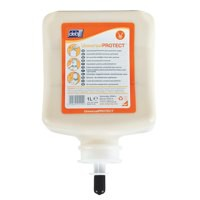 DEB Universal Pre-Work Protect Hand Cream Refill Cartridge 1 Litre Code UPW1L