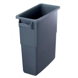EcoSort Recycling System Midi Bin 60 Litre Capacity Anthracite Grey Code SPICEMIDGREY1