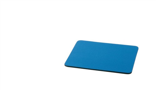 5 Star Mouse Mat with 6mm Rubber Sponge Backing W227xD208mm Blue