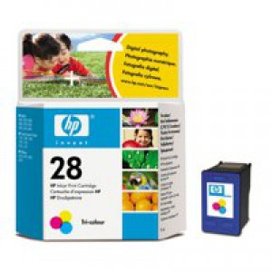 HP No.28 Inkjet Cartridge 8ml Tri-Colour Code C8728AE