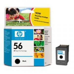 HP No.56 Inkjet Cartridge Black Code C6656AE