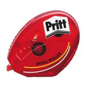 Pritt Glue-It Roller Adhesive Dispenser with Refill Cartridge Permanent Ref 485521