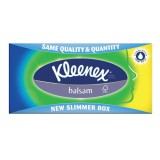 Kleenex Balsam Facial Tissues Box 3 ply with Protective Balm 90 Sheets Code M01245