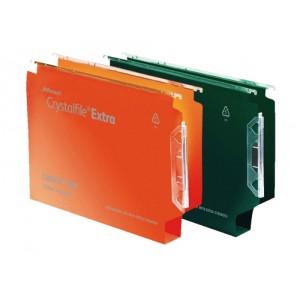 Twinlock Crystalfile Extra Lateral File Polypropylene Square-Base 30mm 330mm Orange Code 3000125
