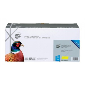 5 Star Compatible Laser Toner Cartridge Page Life 2600pp Yellow [HP No. 305A CE412A Alternative]