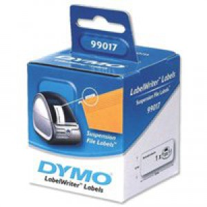 Dymo LabelWriter Labels Suspension File 50x12mm Ref 99017 S0722460 [Pack 220]