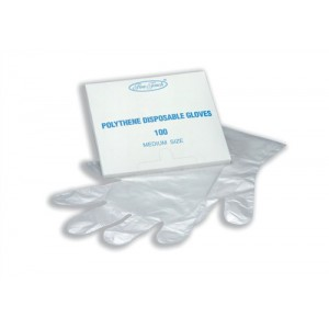 Fine Touch Disposable Gloves Polythene Ref P00969 [Pack 100]