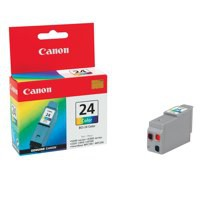 Canon BCI-24C Inkjet Cartridge Page Life 170pp Colour Ref 6882A002AA
