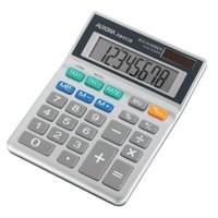 Image for Aurora Calculator Desktop Battery/Solar-power 8 Digit 3 Key Memory 102x133x26mm Ref DB453B