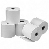 Credit Card Machine Roll 2-Ply 57x55x12.7mm Thermal White Code TH352