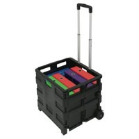 Image for Crate Trolley Foldable Capacity 35kg
