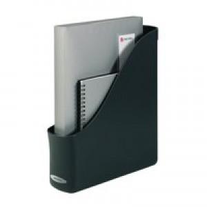 Rexel Agenda2 Magazine Rack File 78x288x305mm Charcoal Code 2101022