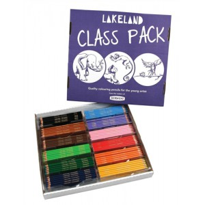 Rexel Lakeland Colouring Pencil Class Pack 30 Code 33329