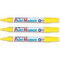 Artline 400 Paint Marker Medium Bullet Tip Yellow A4006