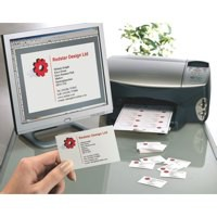 Avery Quick and Clean Business Cards Laser 200gsm 10 per Sheet White Ref C32011-25UK [250 Cards]