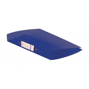 Elba Snap Ring Binder Polypropylene 2 O-Ring 25mm Size A4 Blue Ref 400002002 [Pack 10]